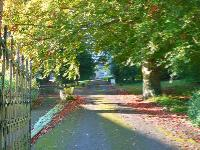 Driveway to Coker Court & St. Michael's Church